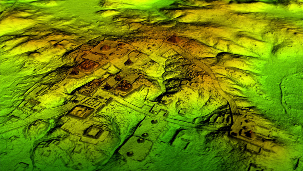 LiDAR technology has revealed that the Maya city of Tikal was four-times larger than originally thought / Photo: Wild Blue Media/National Geographic.