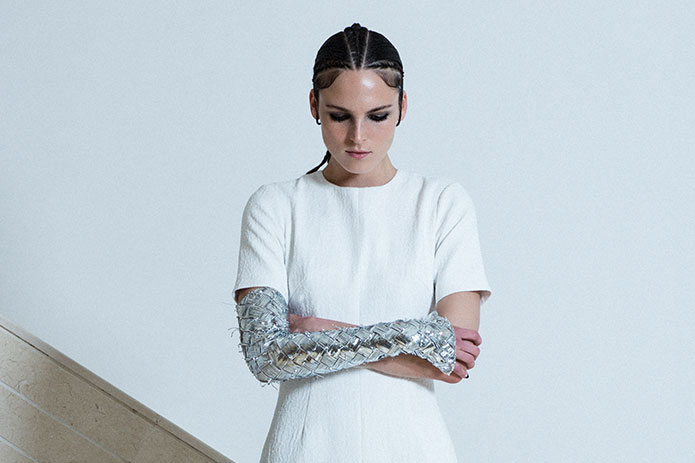 Mercury's Moon Collection by Kuwait's Amna Al Salem, a Ready-to-Wear finalist.