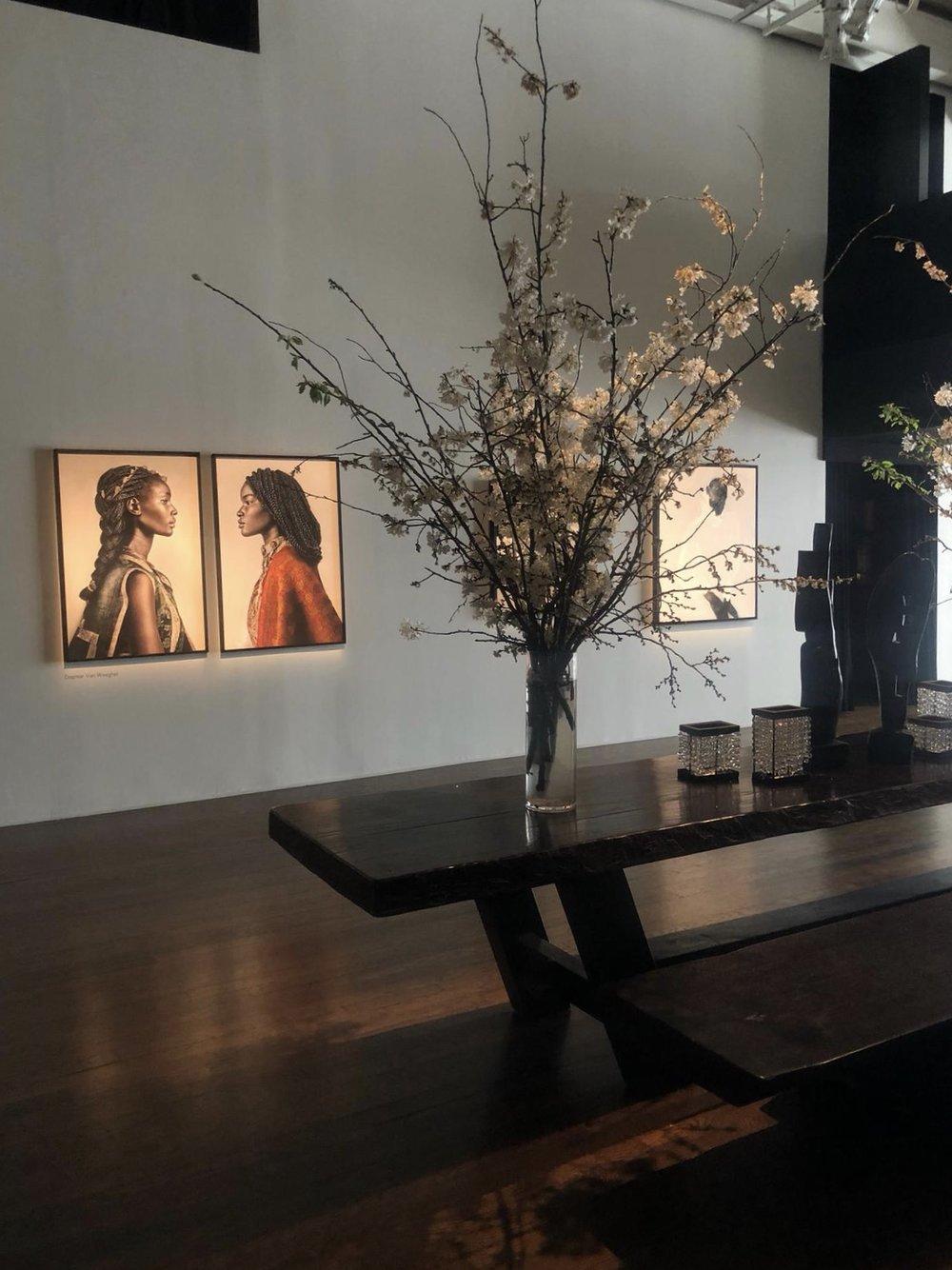 Urban Zen's gallery space in NYC.