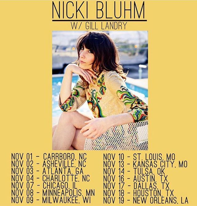 Last run of the year! Can't wait to get back to playin some sweet, sweet tunes with @nickibluhm and the fellas ✌🏼#livemusic #nickibluhm