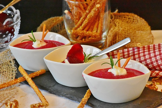 Vegetable and bean based dips make healthy alternatives to cheese based dips