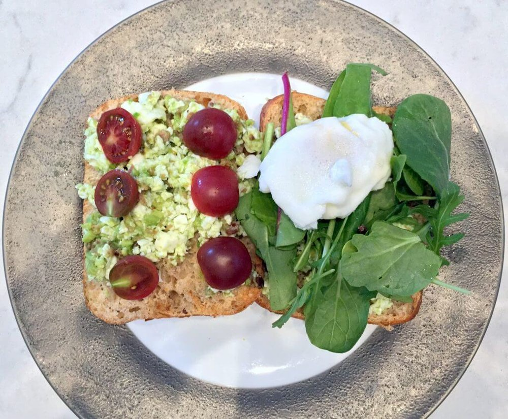 The Classic Avocado & Poached Eggs on Toast With an Upgrade  By WBFF Pro Eve Dawes