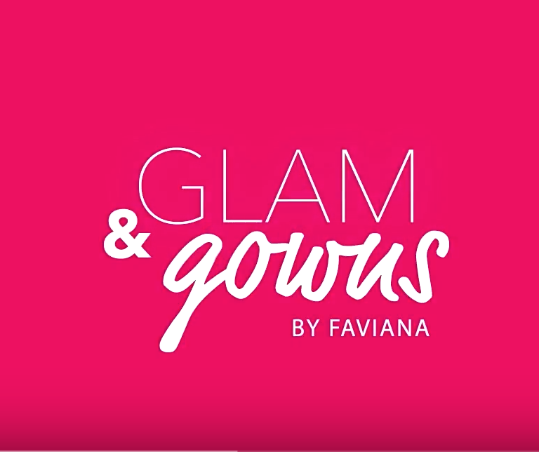 In collaboration with  Faviana  Glam and Gowns