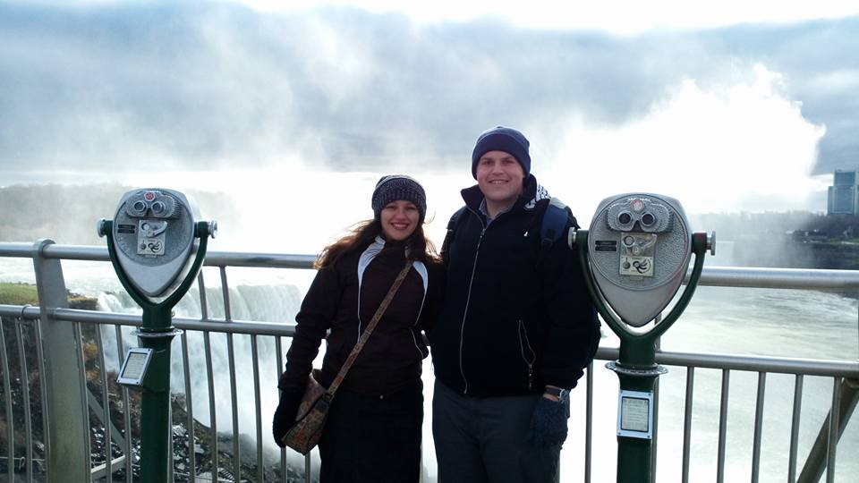 Junior and Loredana Haley serving in Belgium.