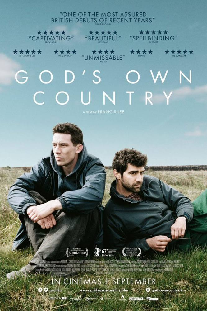 - GOD'S OWN COUNTRY, 2017 (UK) Spring. Yorkshire. Young farmer Johnny Saxby numbs his daily frustrations with binge drinking and casual sex, until the arrival of a Romanian migrant worker for lambing season ignites an intense relationship that sets Johnny on a new path. Director: Francis LeeLength:  1h 44minWhere and when: Genesis Cinema, Friday 1 December, 18:30pmPrice and tickets: £6.6-10; buy a ticket here. Q&A: Alexandra Bulat (UCL), Nicolas Hatton (The 3 Million), Seán McGovern (Fringe! Queer Film and Arts Fest)