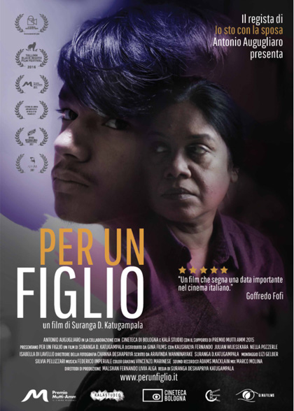 - PER UN FIGLIO/FOR A SON, 2016 (Italy, Sri Lanka) | *UK premiere* Sunita, a middle-aged srilankan woman, lives with her teenage son in the outskirts of a northern Italian city where she works as a domestic worker.The relationship between mother and son is fraught with tension and silence.Having grown up in Italy, the boy is a cultural hybrid his mother struggles to understand, as she fights to live in a country to which she does not want to belong. Director: Suranga Deshapriya Katugampala Length:  1 h 14 minWhere and when: Genesis Cinema, Sunday 3 December, 18:00 - screened alongside AmbaradanPrice and tickets: £6.5-10; buy a ticket here.Q&A: Golam Tipu (representative of the Italian/Bengali community), Angelo Boccato (journalist) and Paolo Negro and Marzia Ercolani (director and lead female actress in Ambaradan)