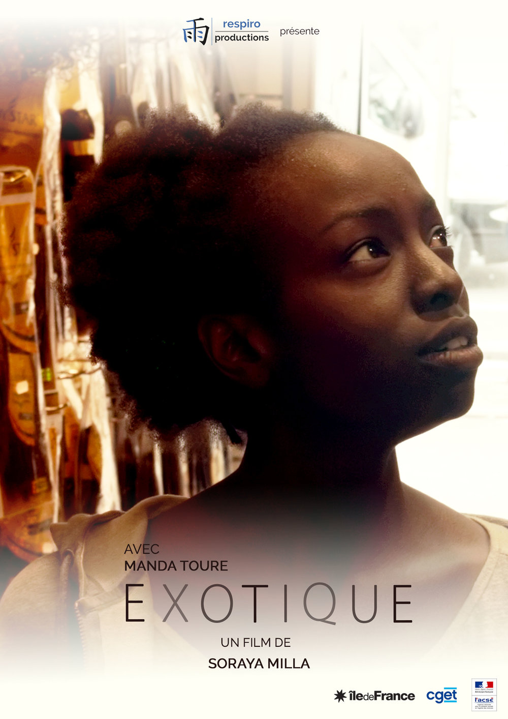 - EXOTIQUE, 2015 (France)Philomène, a Parisian teenager of African origin, loves Bastien, a guy in her class. But with her frizzy hair, she doesn't feel she has the weapons of seduction to challenge all those girls with sleek hair. So she gets a weave. Philomène lives this 'capillary change' as a metamorphosis.With a dexterous touch, 'Exotic' explores issues of integration, standards of beauty, othering, and micro-aggressions in a sweet rather than an in-your-face way, making it a tragi-comic delight.Director: Soraya MillaLength: 18 minWhere and when: Deptford Cinema, Saturday 2 December, 16:00 - screened alongside Toprak and El Futuro PerfectoPrice and tickets: £4.50-6, buy a ticket here