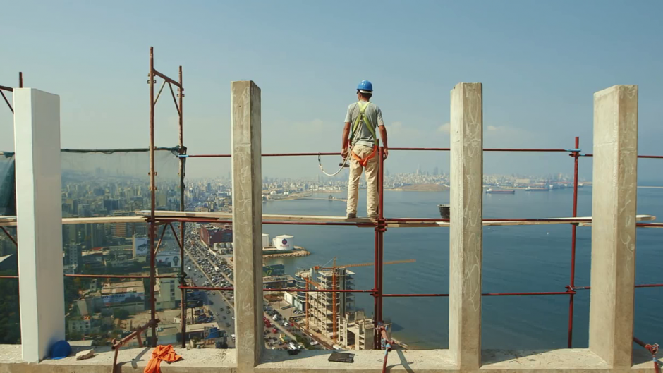 Taste of Cement + Q&A - The Lexi, Mon 3 December, 6:30pm Tickets hereA portrait of workers in exile. An empathetic encounter with people who have lost their past and their future, locked in the recurring present. The director creates an essay documentary of Syrian construction workers building new skyscrapers in Beirut on the ruins caused by the Lebanese civil war. At the same time their own houses are being bombed in Syria. Mute and imprisoned in the cement underground, they must endure until the new day arrives where the hammering and welding drowns out their nightmares.Followed by a panel discussion with: Dr Sunil Kumar (Social Policy & Development, LSE), Sulaiman Osman (Hikayetna, Stories of Syrian), Tony Gammidge (filmmaker & art therapist with Art Refuge UK), and Dr Hanna Baumann (Visiting Lecturer, Centre for Urban Conflicts Research, Cambridge)