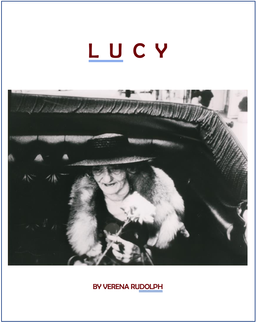 - LUCY, 1984 (USA)Armed with a camera and tape recorder, Verena Rudolph arrives in New York City to search for her aunt Lucy, who disappeared from her Bavarian hometown 50 years ago. Piece by piece, a mosaic of her eccentric life emerges from the tales of her best friends - four women aged between 90 and 100 - and her Black adoptive daughter Luci.Director: Verena RudolphLength: 47minsWhere and when: Deptford Cinema, Sunday 2 December, 12:00noon