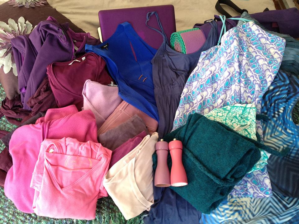 My wardrobe colors