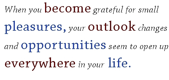 when you become grateful...