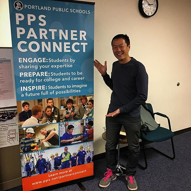 Partner with @ppsimages and sign up as a guest speaker, host a job shadow, or be a mentor, powered by FMYI: pps.net/partnerconnect