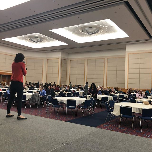 Scenes from #19ntc @ntenorg as we talk about tech for good and geek out on databases, equity, and impact!
