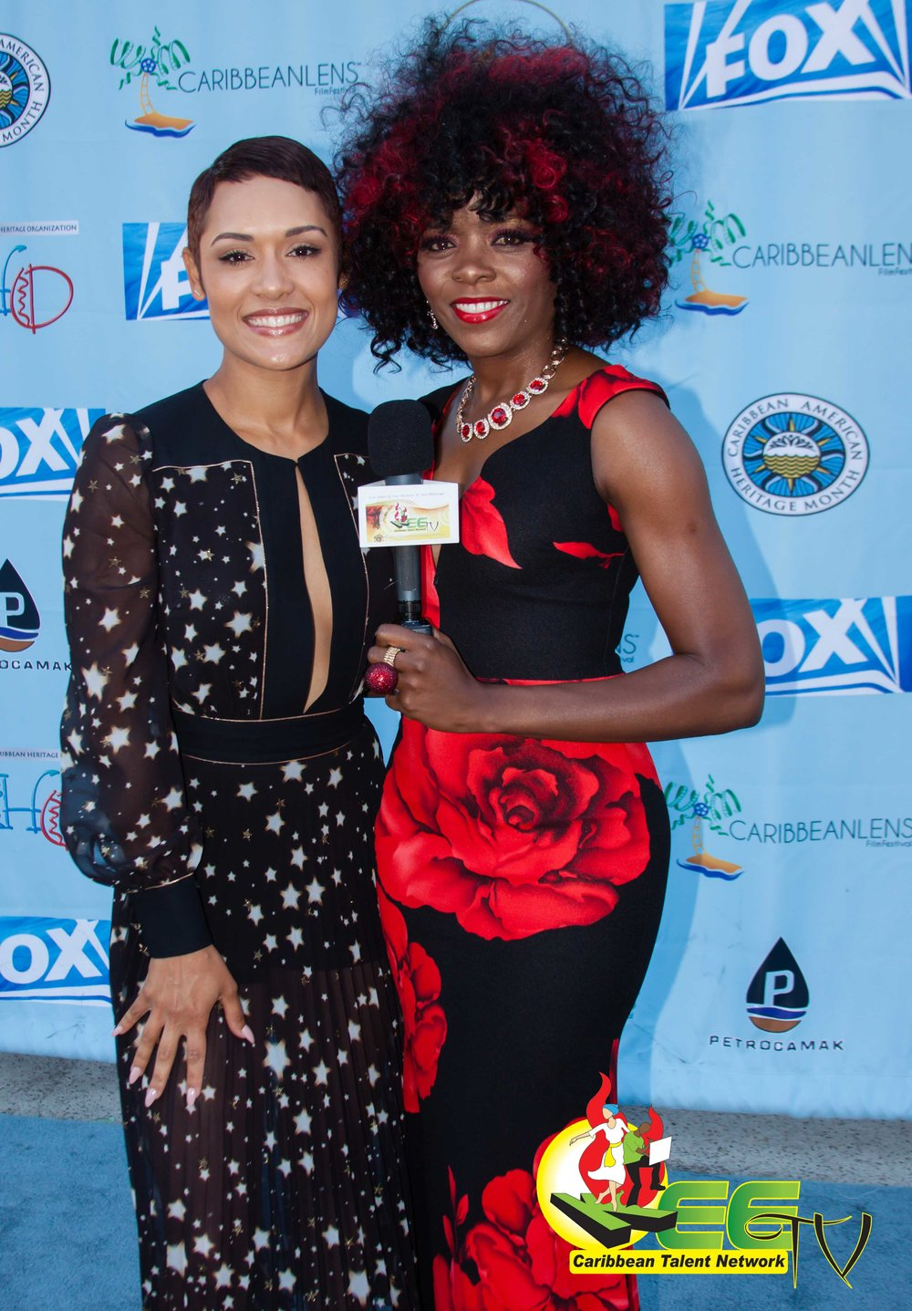 Grace Byers & Racquel Marshall