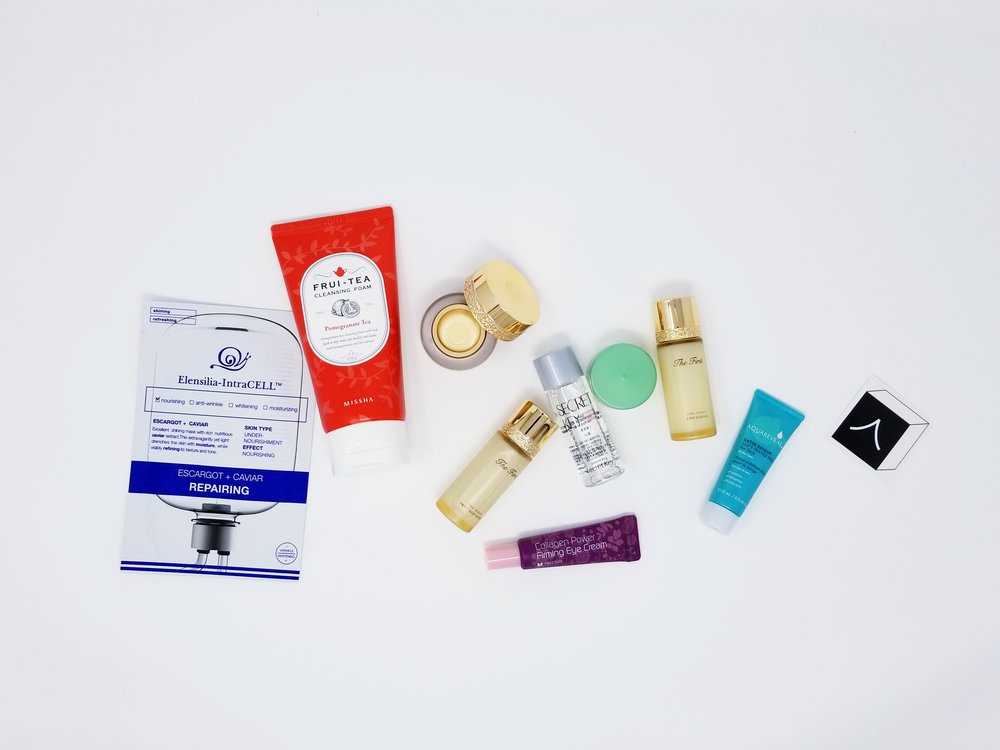 Mini Box - Our mini box is the perfect starter kit for anyone who is new to Korean skincare or the K-beauty junkie who wants to sample new products. The mini box includes travel/deluxe sample sized products that are intended to last 2-3 week, depending on usage.