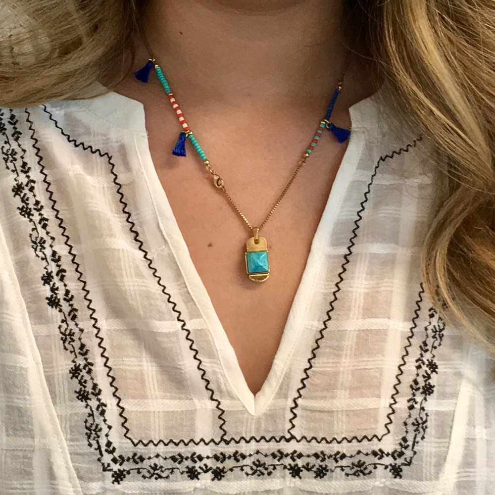 Tassel Necklace + Pendant