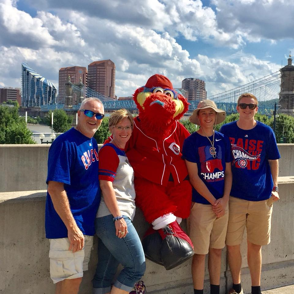 Summers at the ball park!  -Jamie N., Illinois