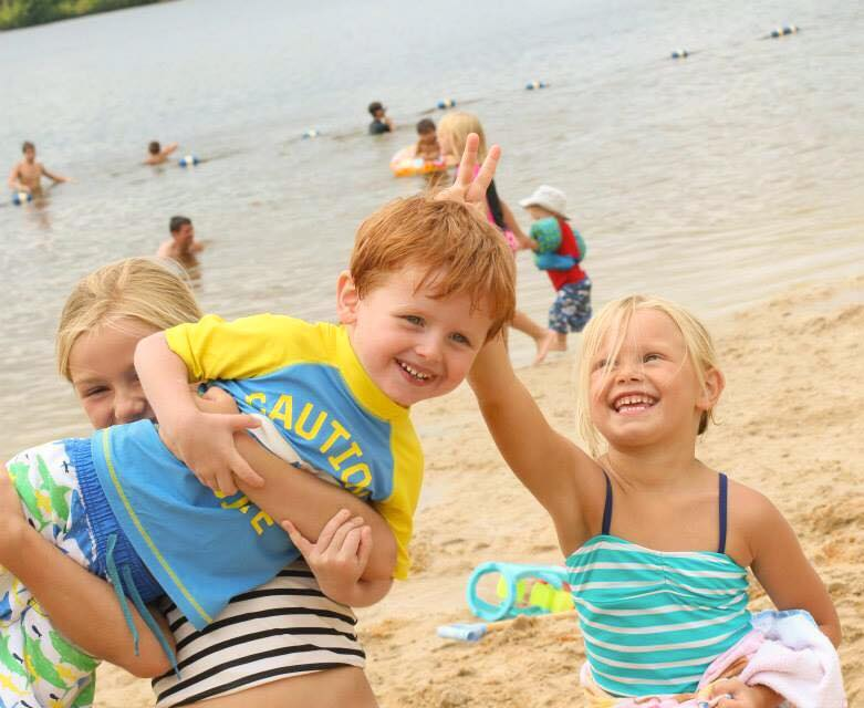 Beach time with cousins!  -Brooke M., Wisconsin