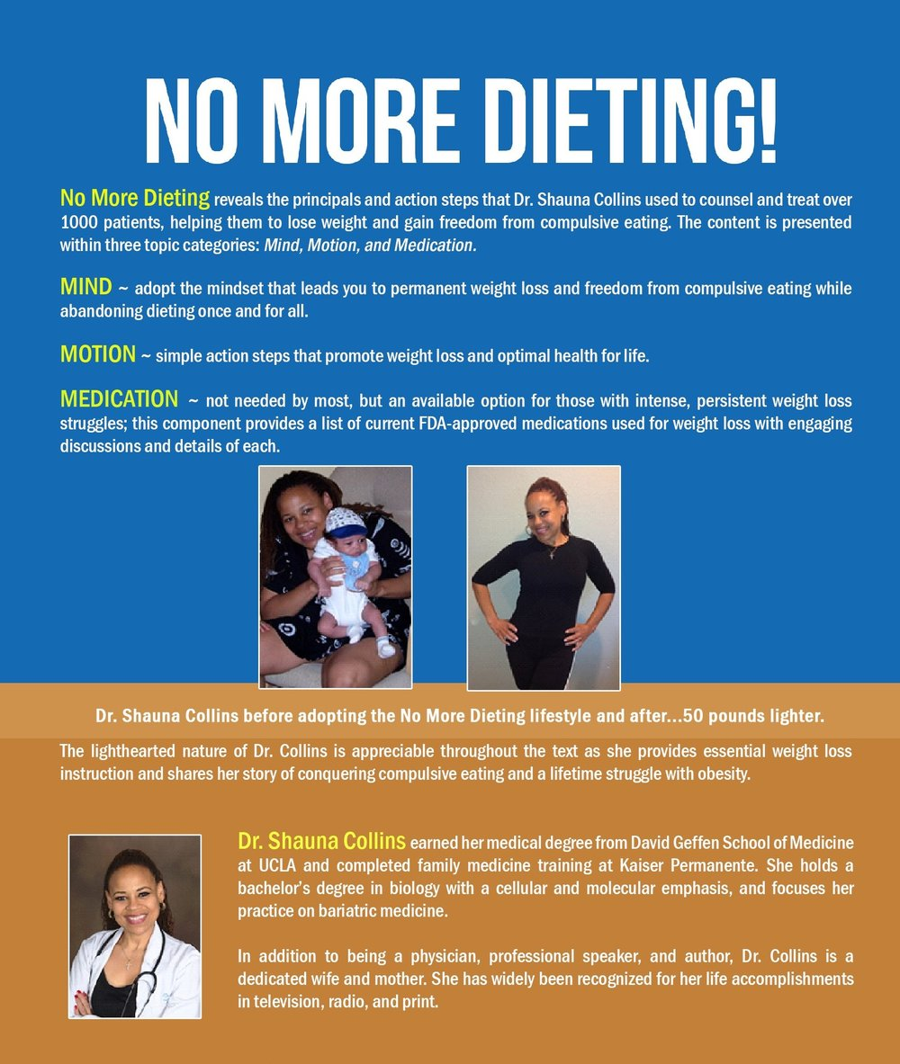 No More Dieting!  ~ Real Cover