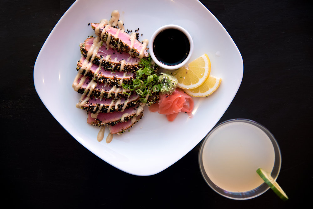 ahi tapa from 315 martinis and tapas in coeur d alene