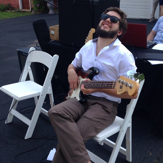 Matt's Wedding Gift: A five minute bass solo. #jasurda2014