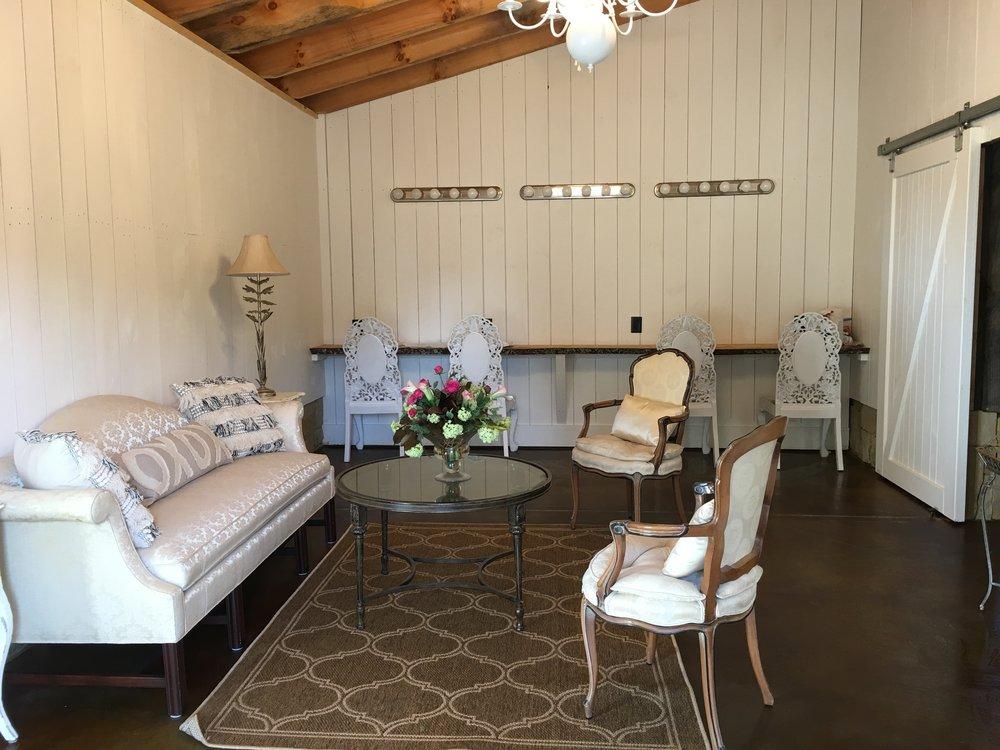 Bridal room.