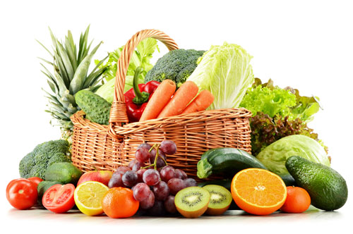 Fruits and veggies help prevent age-related macular degeneration by lowering inflammation and fighting free radicals to prevent oxidative stress in your body.