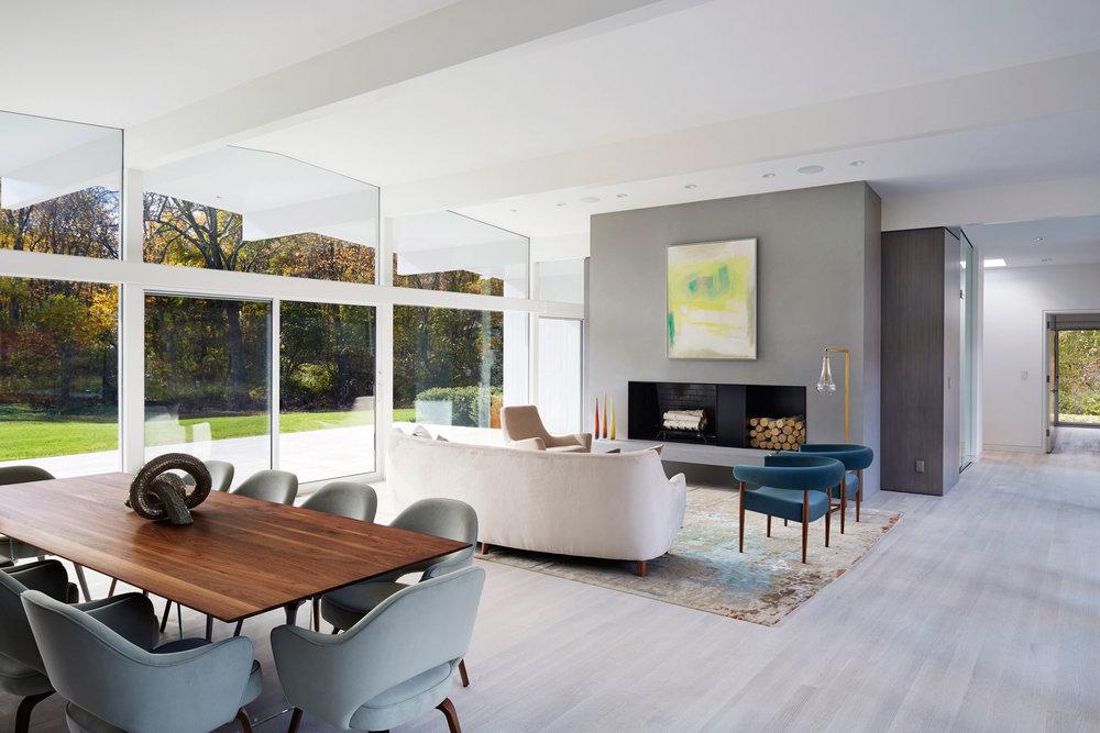 ... Living Room   Mid Century Modern House ...