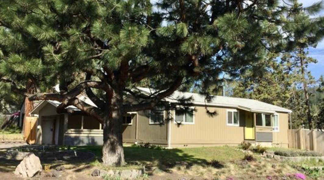 Entry level home on the Westside of Bend                      Image from Zillow