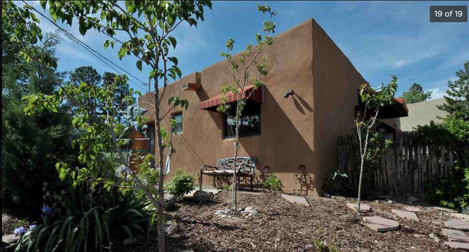 Small adobe home in downtown Santa fe                         Image Zillow