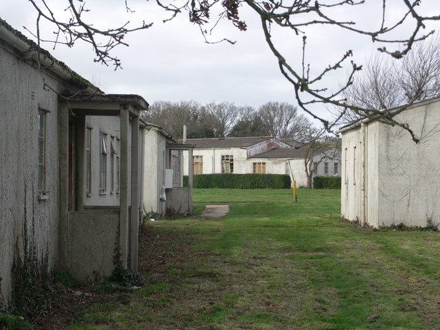 Sopley RAF camp, England, scene of first NWTA in the UK