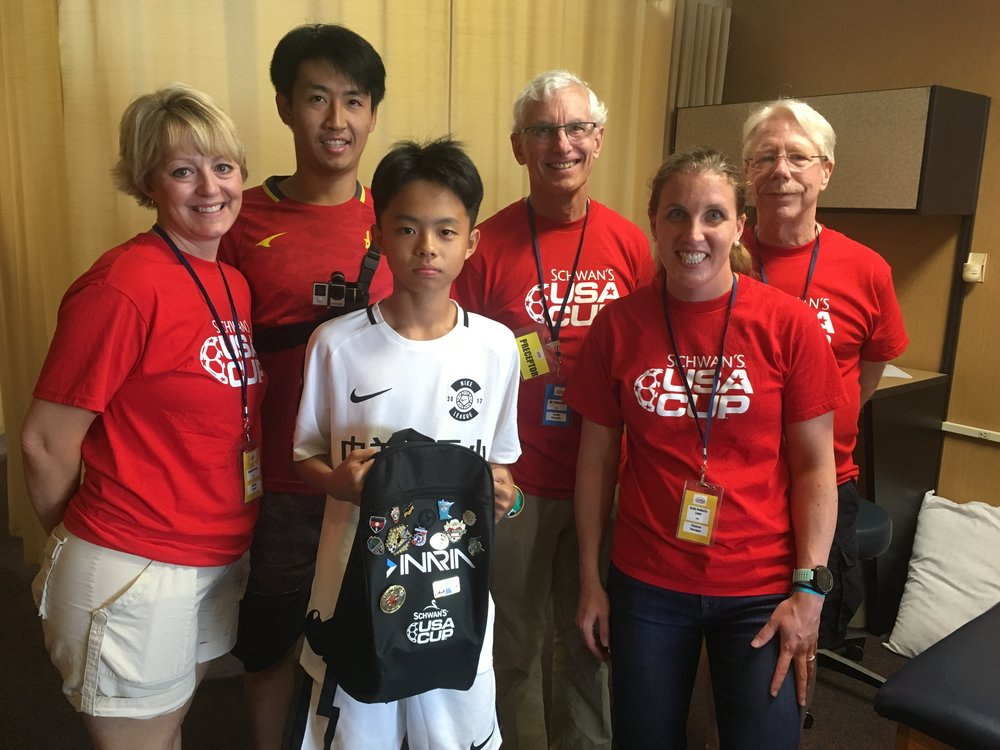 USA Soccer Cup, Blaine Sports Center, MN, July 2017 - Medical Team