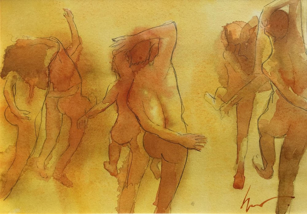 Berserker, 40 x 30 cm, Watercolour, £300