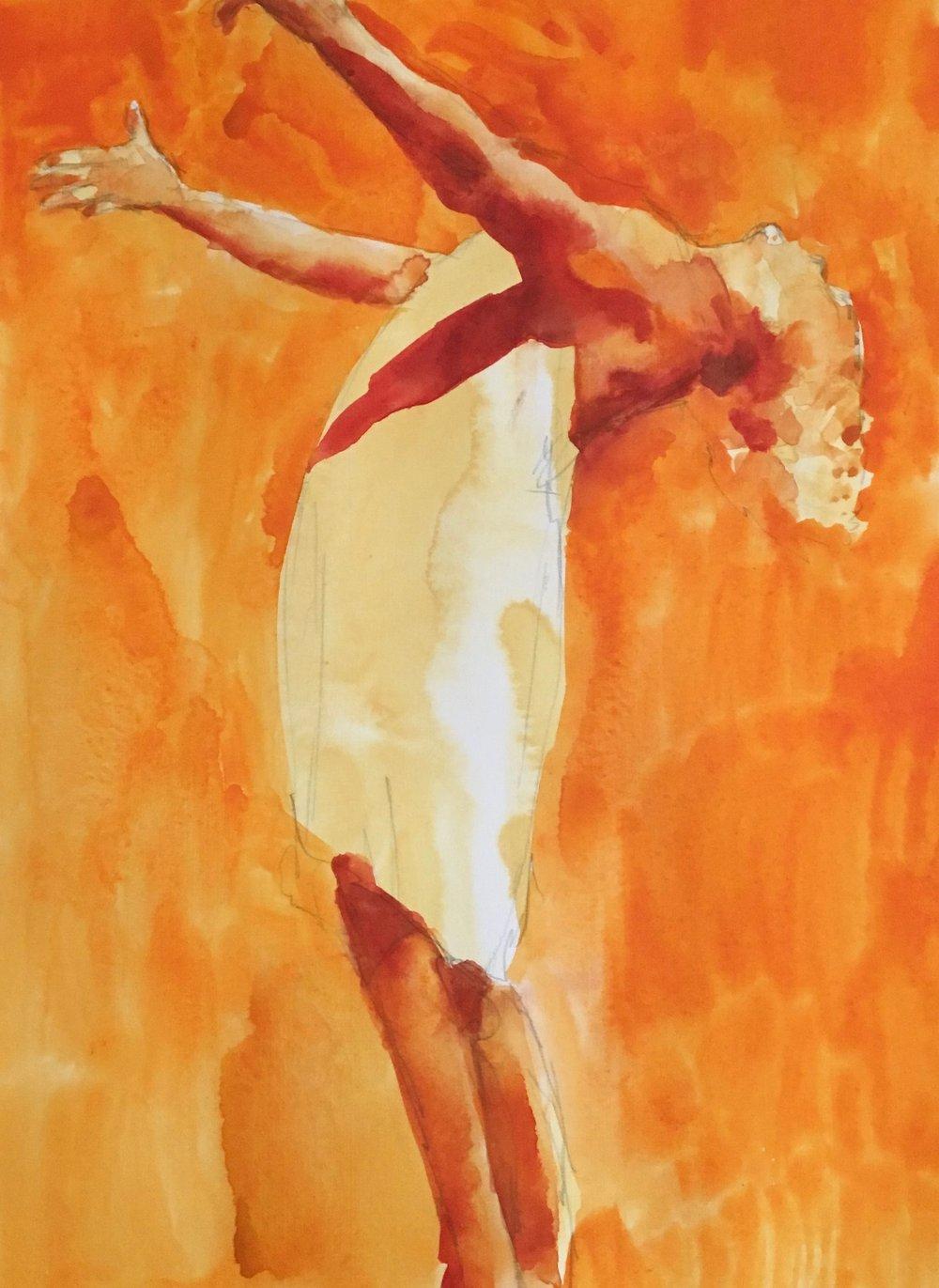 Untitled, 40 x 30 cm, Watercolour, £300