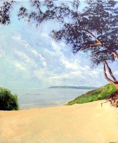 Carmel Beach, California, Acrylic on Canvas, 60 x 50cm, £950