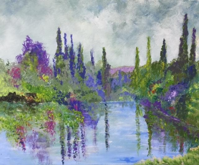 Argenteuil, Acrylic on Canvas, 50 x 40cm, £850