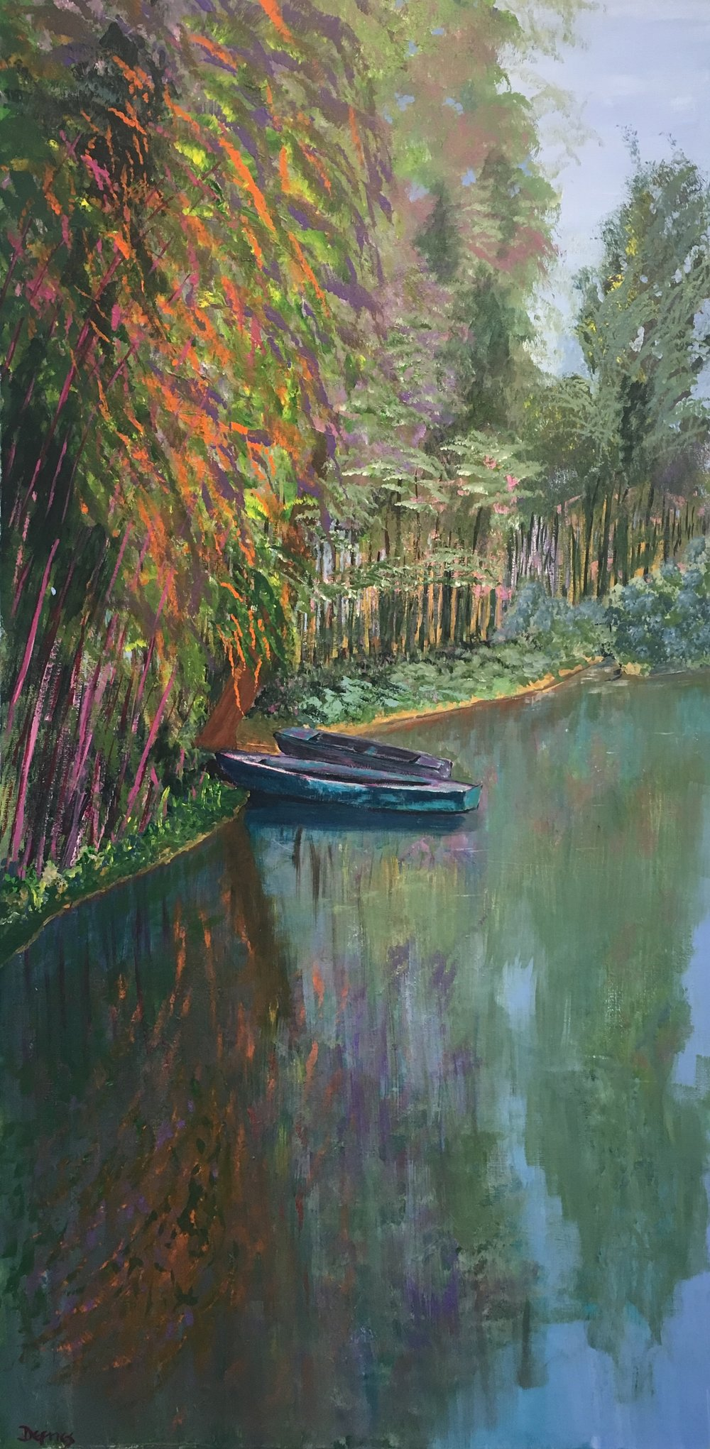 Giverny, France, 100 x 50cm, £1250