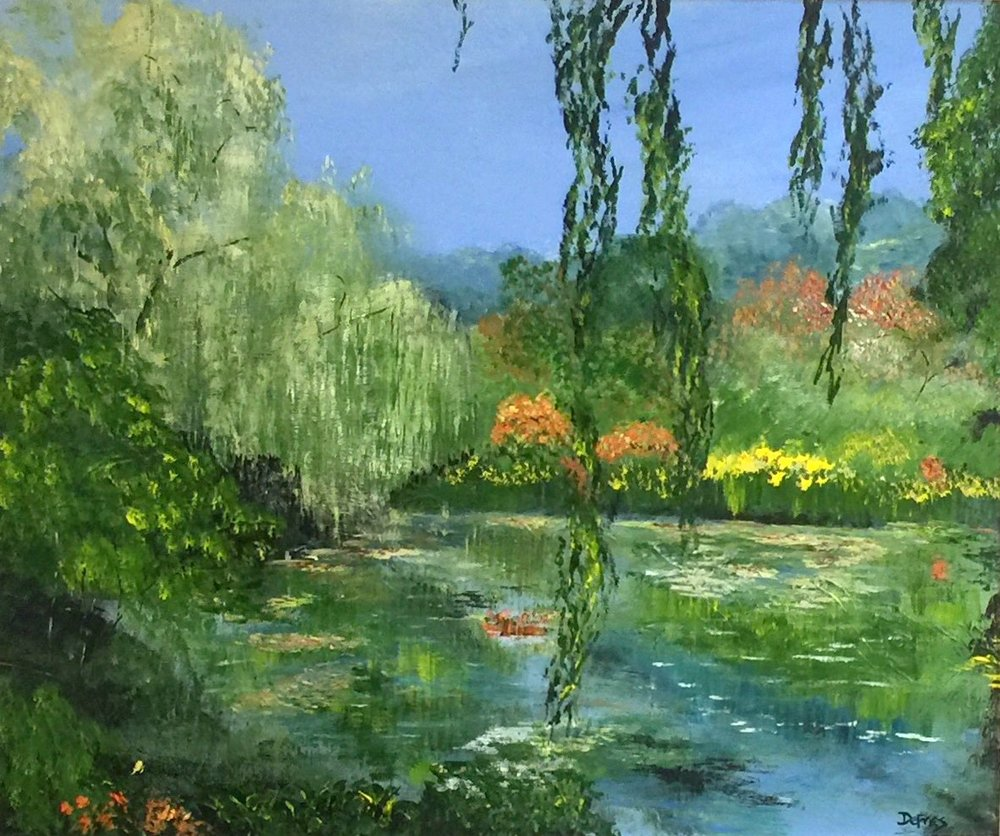 Lily Pond, Giverny, 50 x 60cm, £975