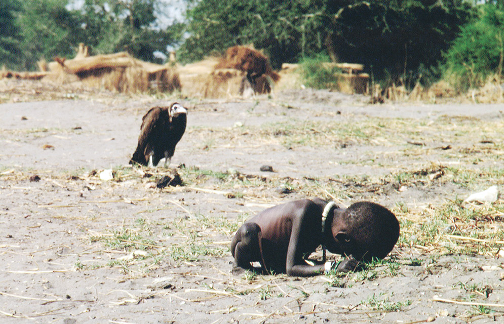 "Starving Child and Vulture  was labeled as ""Adventure"" with 55% confidence, which lacks situational awareness and emotional intelligence."