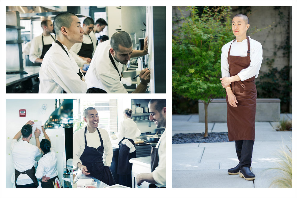 Chef Corey Lee for Gaggenau