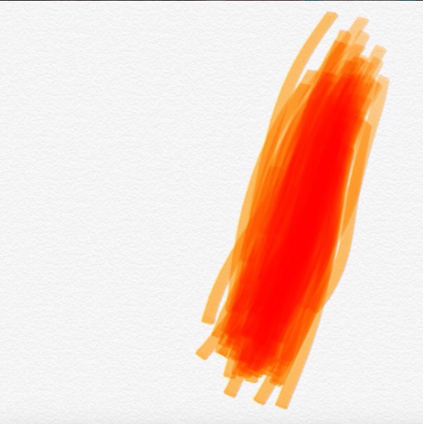 "Day 71. Today I discovered that Apple updated the note app so you can draw in it! Cool! I call this one ""How Many Times I Scrolled Through Instagram Today"""