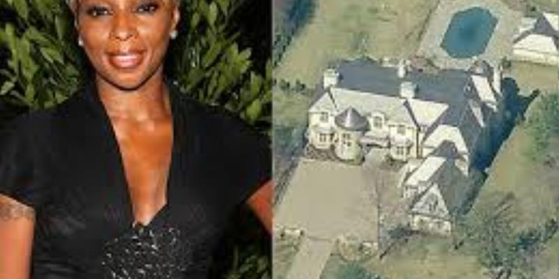 Celebrity Tax Tuesday - Mary J. Blige Liquidates Mansion