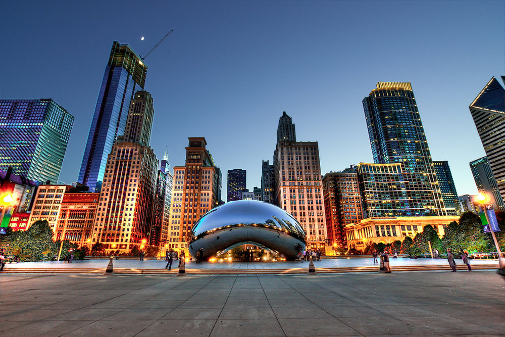 Chicago, Illinois bean