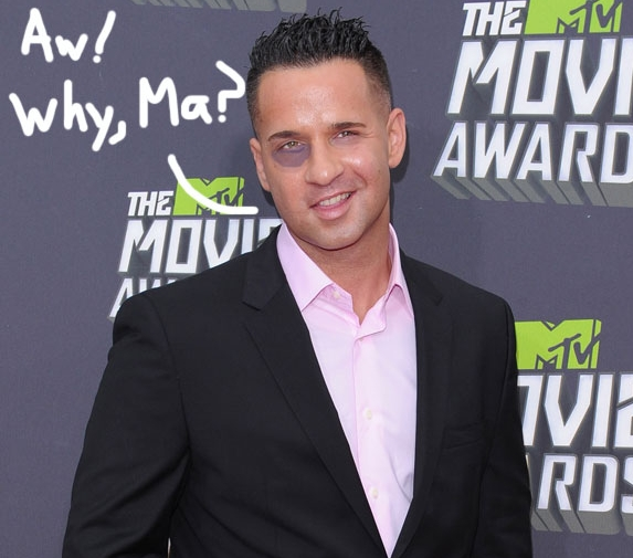 "Mike ""The Situation"" Sorrentino Tax problems"