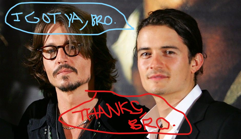 JDepp and OBloom
