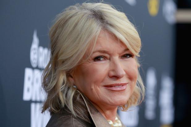 Martha Stewart - Getty Images