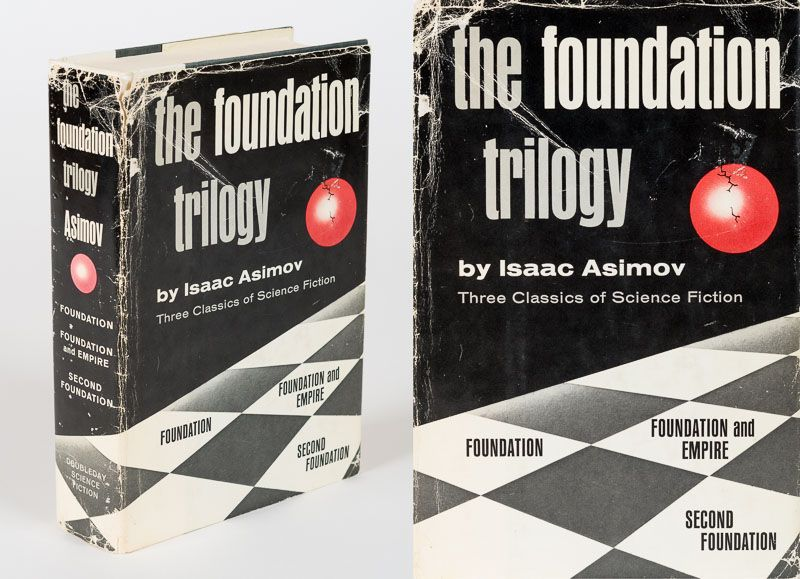 Science Fiction Book Club editions of Isaac Asimov's Foundation Trilogy are going for as much as $90 online... go check your stacks!