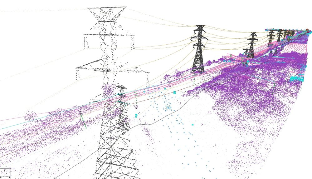 Utility Inspection - Using inhouse created Lidar and Thermal imaging, you can inspect utilities and structures with sub, quater inch resolution's.