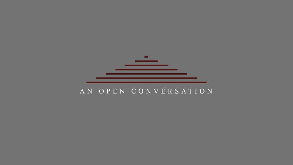 An Open Conversation