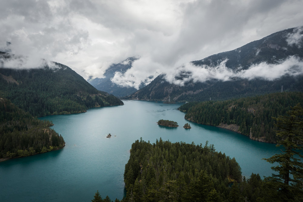 Diablo Lake, North Cascades National Park in Washington